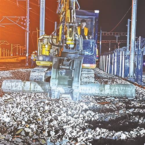 京沪站场与徐宿淮盐站场互联互通项目正式开工