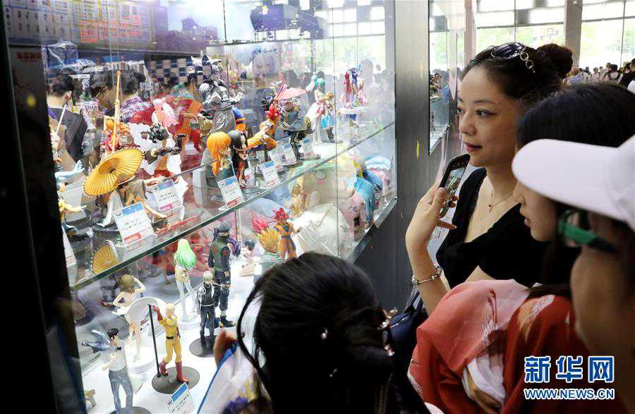 (文化)(2)中国国际动漫游戏博览会在上海揭幕