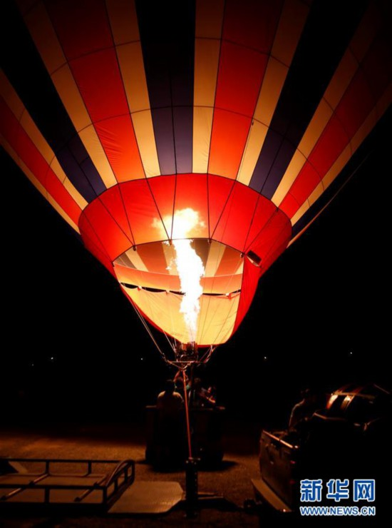 首届卡帕多基亚国际热气球节于7月3日开幕