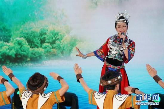 """(北京世园会)(4)北京世园会迎来""""湖北日"""""""