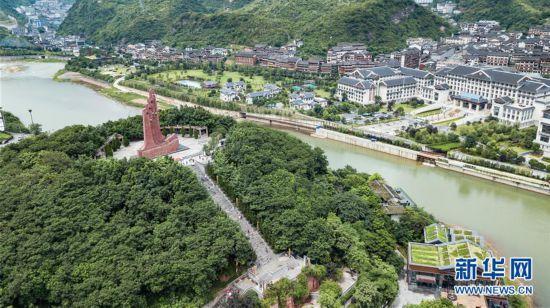 (社会)(2)贵州遵义:红色旅游迎客来
