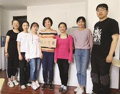 哈佛女硕士回上海创业改行搞起了辅导垃圾分类