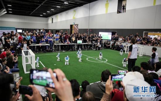 (国际)(1)机器人<a href=https://www.xwyu.com/e/tags/?tagname=世界 target=_blank class=infotextkey>世界</a>杯在澳大利亚悉尼举行