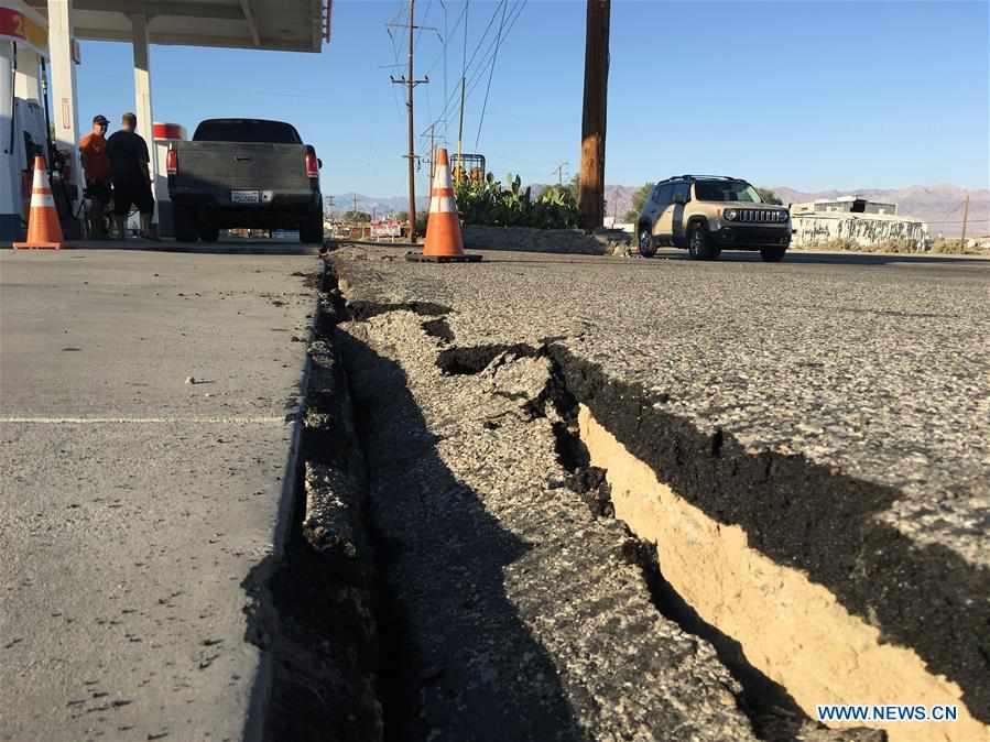 U.S.-CALIFORNIA-EARTHQUAKE-AFTERMATH