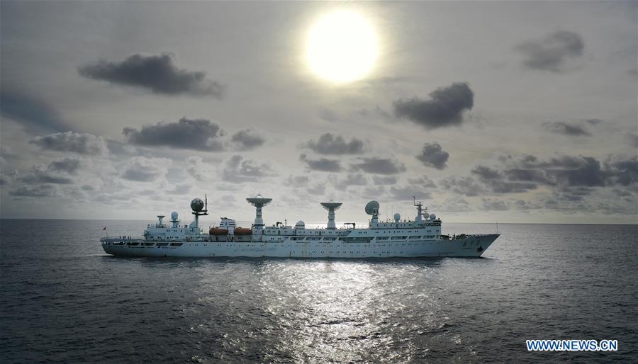 (SCI-TECH)CHINA-SPACECRAFT TRACKING SHIP-YUANWANG-3