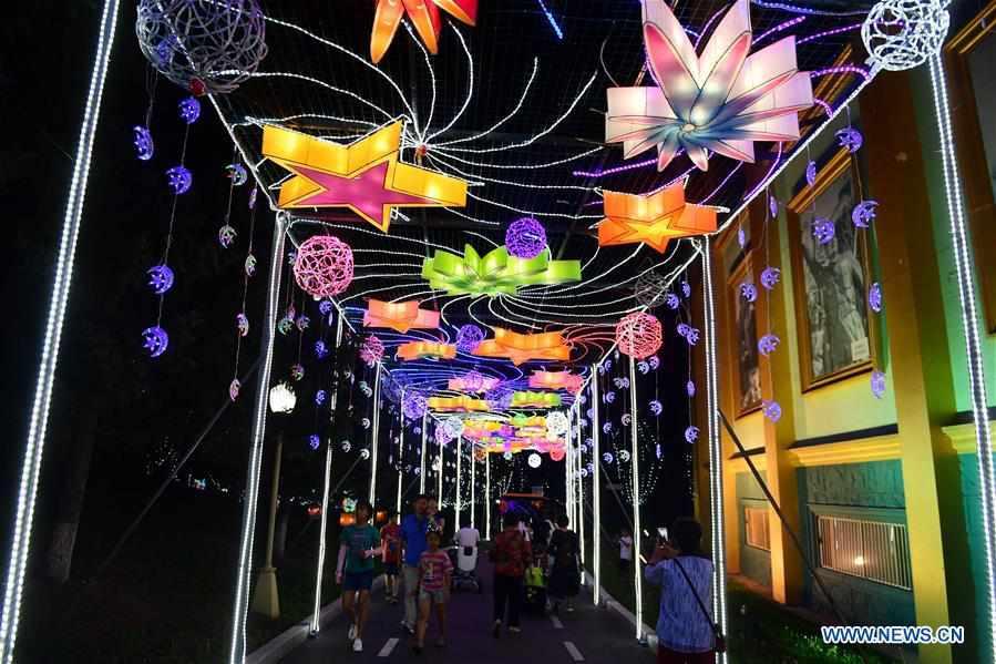 Lantern show in Changchun, NE China's Jilin Province