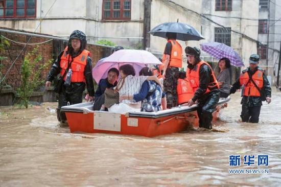 【组图】福建多地发生强降雨 多部门联合抢险救灾