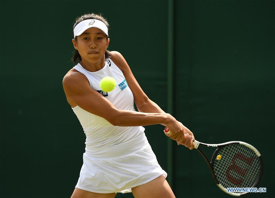 Zhang Shuai reaches quarterfinals at Wimbledon