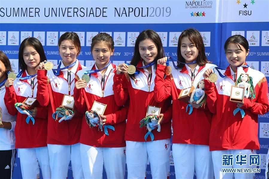 (大运会)(3)跳水――中国队获得男、女团体金牌