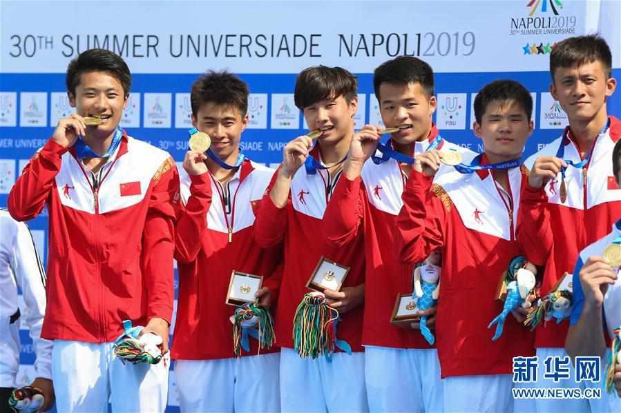 (大运会)(2)跳水――中国队获得男、女团体金牌