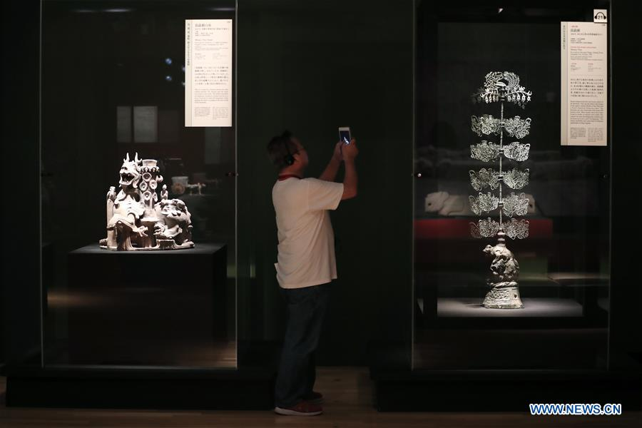 JAPAN-TOKYO-CHINA-THREE KINGDOMS-EXHIBITION