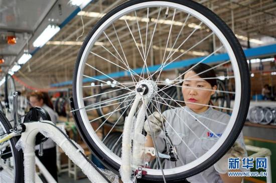 (经济)(1)河北广宗:自行车企业转型升级拓展海外市场
