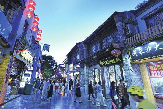 """天气渐热城市的夜晚也愈发精彩大数据勾勒夜经济""""活力图""""南京二手家具回收"""