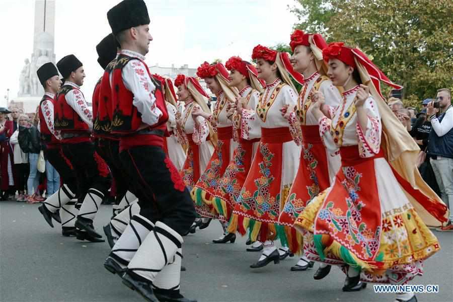 LATVIA-RIGA-INTERNATIONAL FOLK DANCE  FESTIVAL