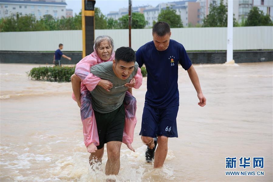 #(社会)(1)福建武夷山遭受暴雨袭击