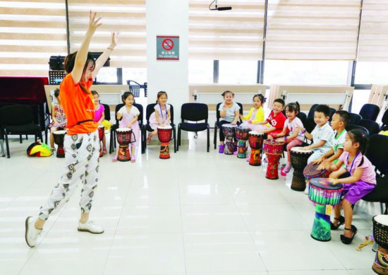惠州市文化馆公益培训暑假班开班