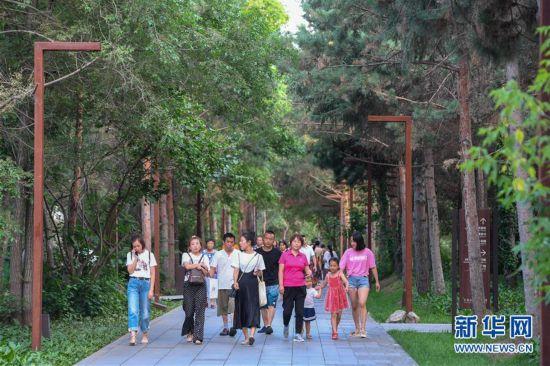 (美丽中国)(7)昔日净水厂 如今避暑园
