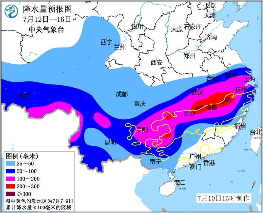 未来一周南方将再迎两次强降雨专家提醒公众防灾
