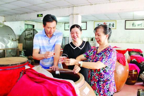 惠州糯米酒至少有900多年酿饮历史 酿造技艺被列为市级非遗