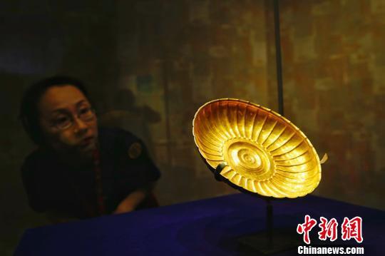 """231件(套)精美文物集中亮相南京展""""金色阿富汗"""""""