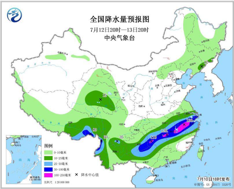 12日起南方将迎来新一轮强降雨