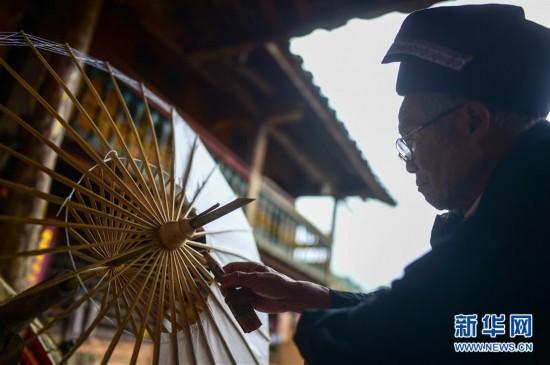 (社會)(10)雲南:壯鄉花傘傳承百年技藝