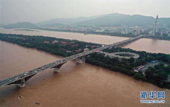 (環境)(1)湖南發布洪水紅色預警 長沙橘子洲景區緊急閉園