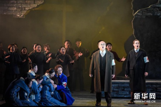 (新华视界)(4)中国歌剧《拉贝日记》在维也纳上演