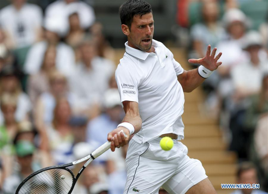 (SP)BRITAIN-LONDON-TENNIS-WIMBLEDON-DAY 9