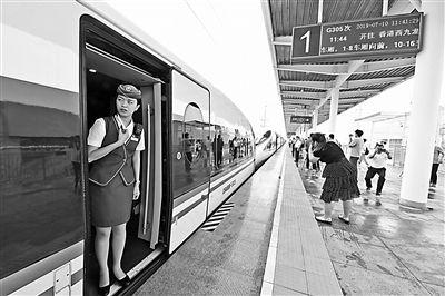 雄安新區白洋澱首迎直達香港高鐵