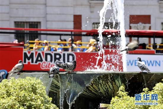 (国际)(1)马德里:高温持续