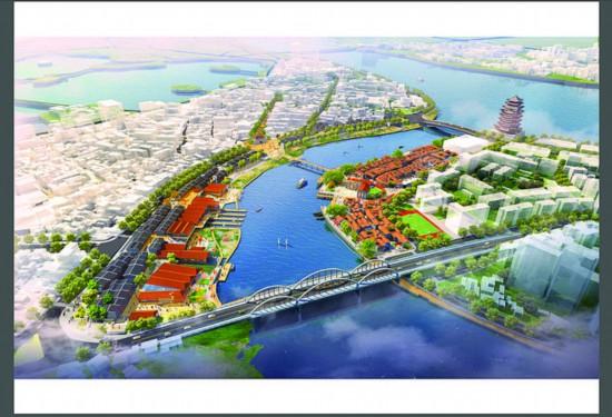 老城区改造后效果图。  图片由市自然资源局提供