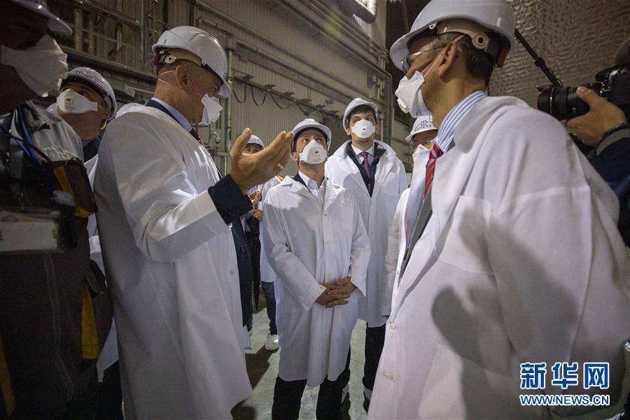 (国际)(1)切尔诺贝利核电站新掩体正式投入使用