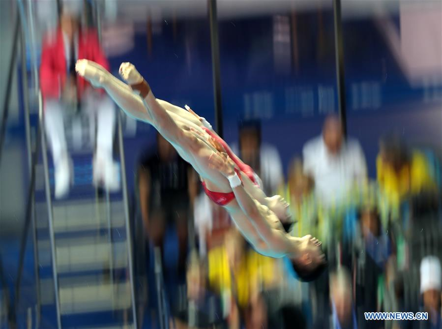 (SP)SOUTH KOREA-GWANGJU-FINA WORLD CHAMPIONSHIPS-DIVING-MIXED 10M SYNCHRONISED