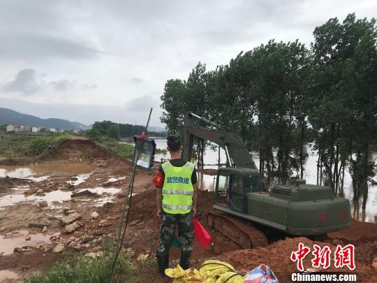 新一輪暴雨致湘江洣水衡東站水位再超警戒線