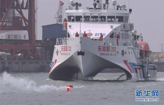 福建漳州举行海上搜救与溢油应急综合演习