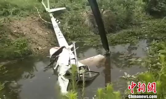 镇江大路通用机场一直升机训练中坠毁 2人遇难