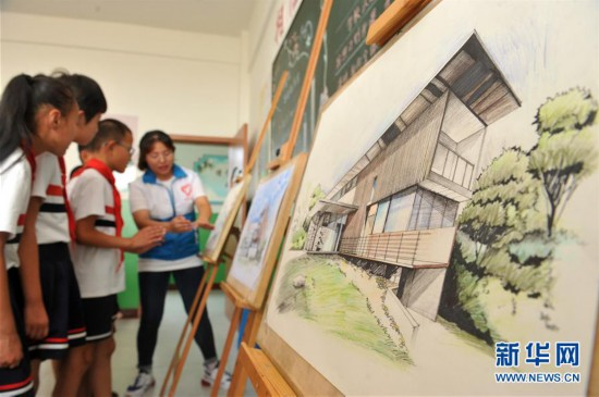 (教育)(3)河北海興:留守兒童樂享暑假