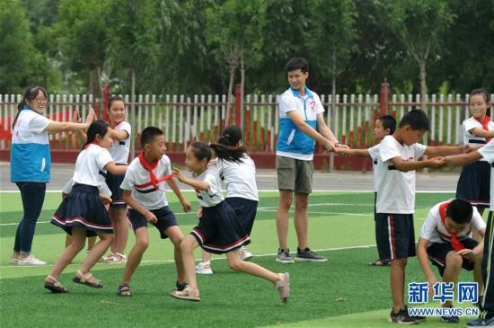 (教育)(4)河北海興:留守兒童樂享暑假