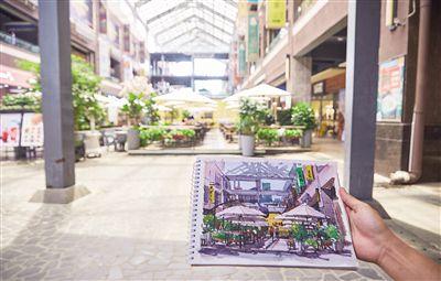 """速写海口:走街串巷勾画椰城记忆每个周日早上9点,都会有一群拿着画板的人,出现在海口的街头巷尾,他们是用自己的画笔,记录海口风景的组织――""""速写海口""""的成员。"""