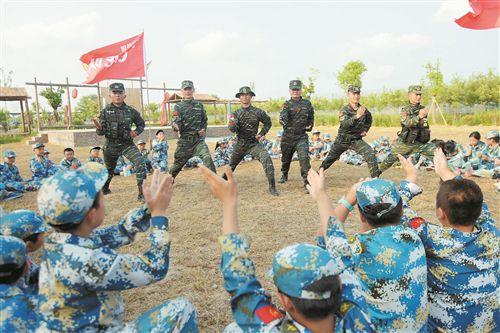 徐州退役军人创办红色教育军事特训营