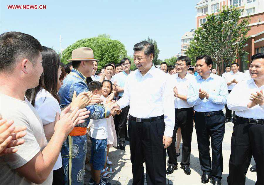 CHINA-INNER MONGOLIA-XI JINPING-INSPECTION (CN)