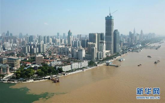 (社会)(2)长江干流湖北段水位持续上涨