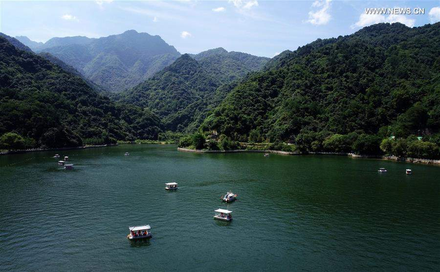 Summer scenery of Qinling Mountains in NW China's Shaanxi