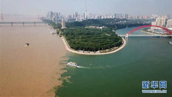 (社会)(5)长江干流湖北段水位持续上涨
