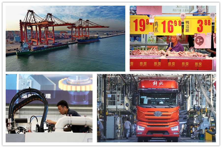 10 data highlights of China's economy in H1