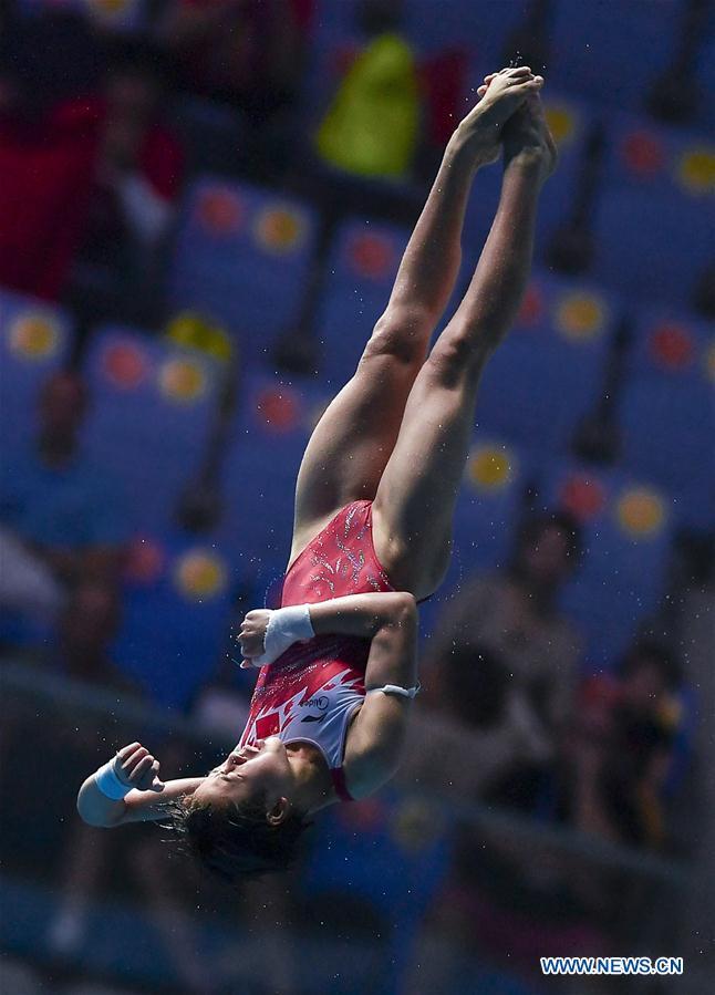 China's Chen wins women's 10m platform final at FINA World Championships