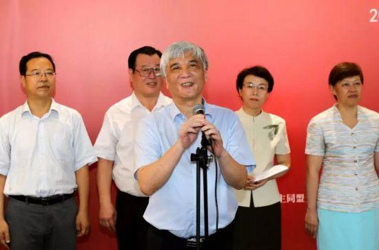 民盟华北五省市区庆祝新中国成立70周年书画联展今天开幕