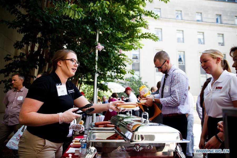 National Hot Dog Day celebrated in Washington D.C.