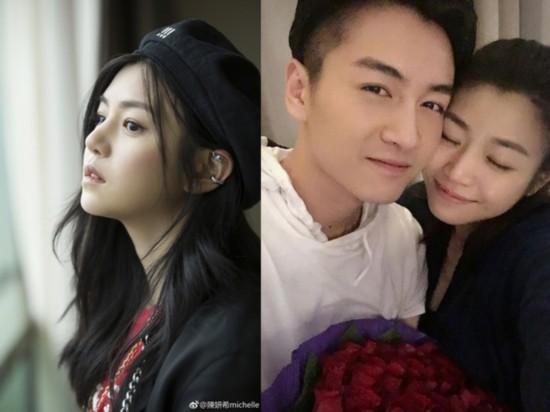 陈妍希出席活动打破离婚传言 坦言考虑生二胎
